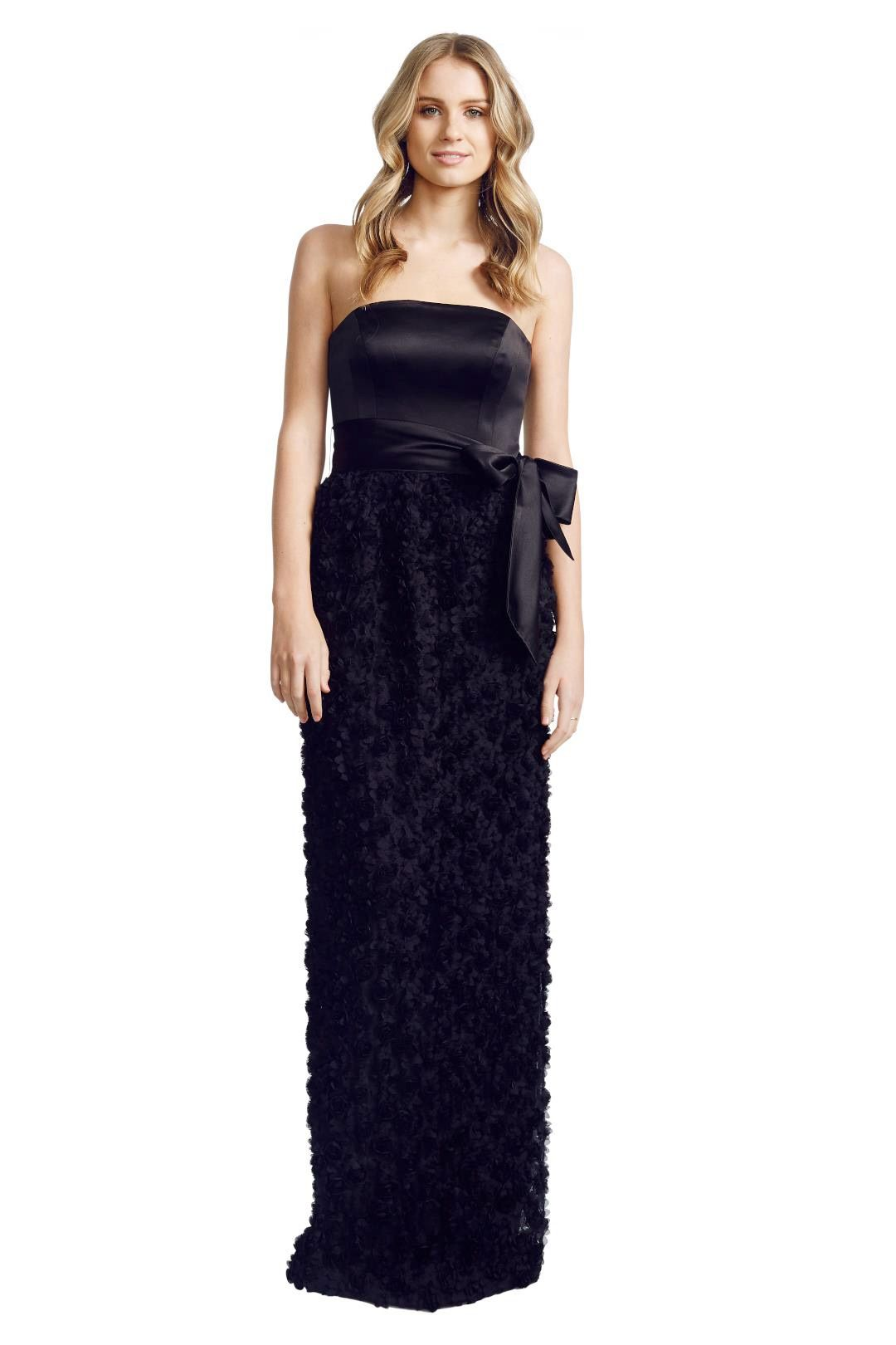 Matthew Eager - Poodle Ball Gown - Black - Front