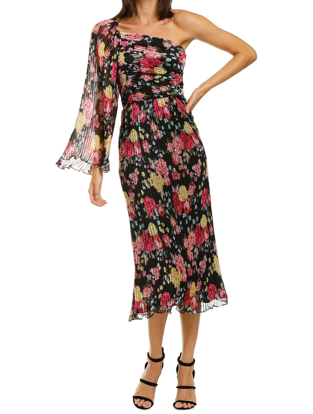 Midnight-Fiesta-Midi-Dress-Print-Front