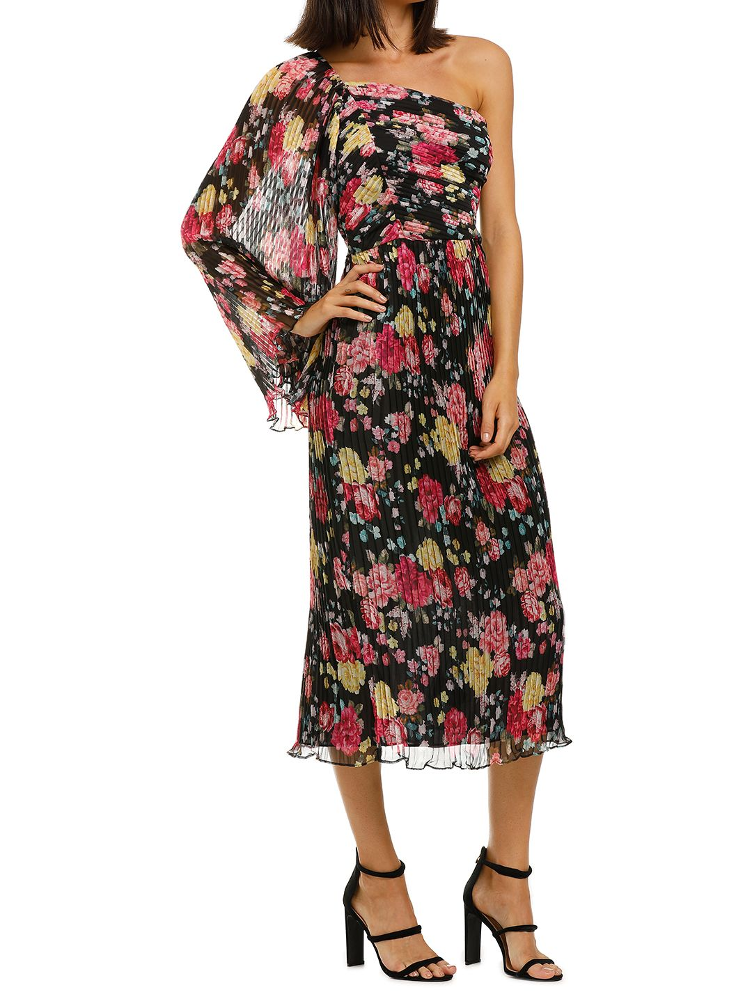 Midnight-Fiesta-Midi-Dress-Print-Side