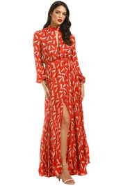 Milly-Emmie-Dress-Ruby-Red-Front