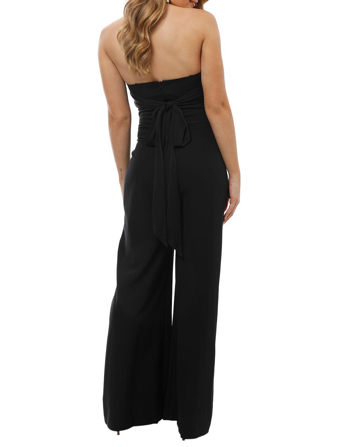 Milly - Brooke Jumpsuit - Black - Back