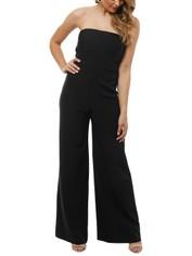 Milly - Brooke Jumpsuit - Black - Front