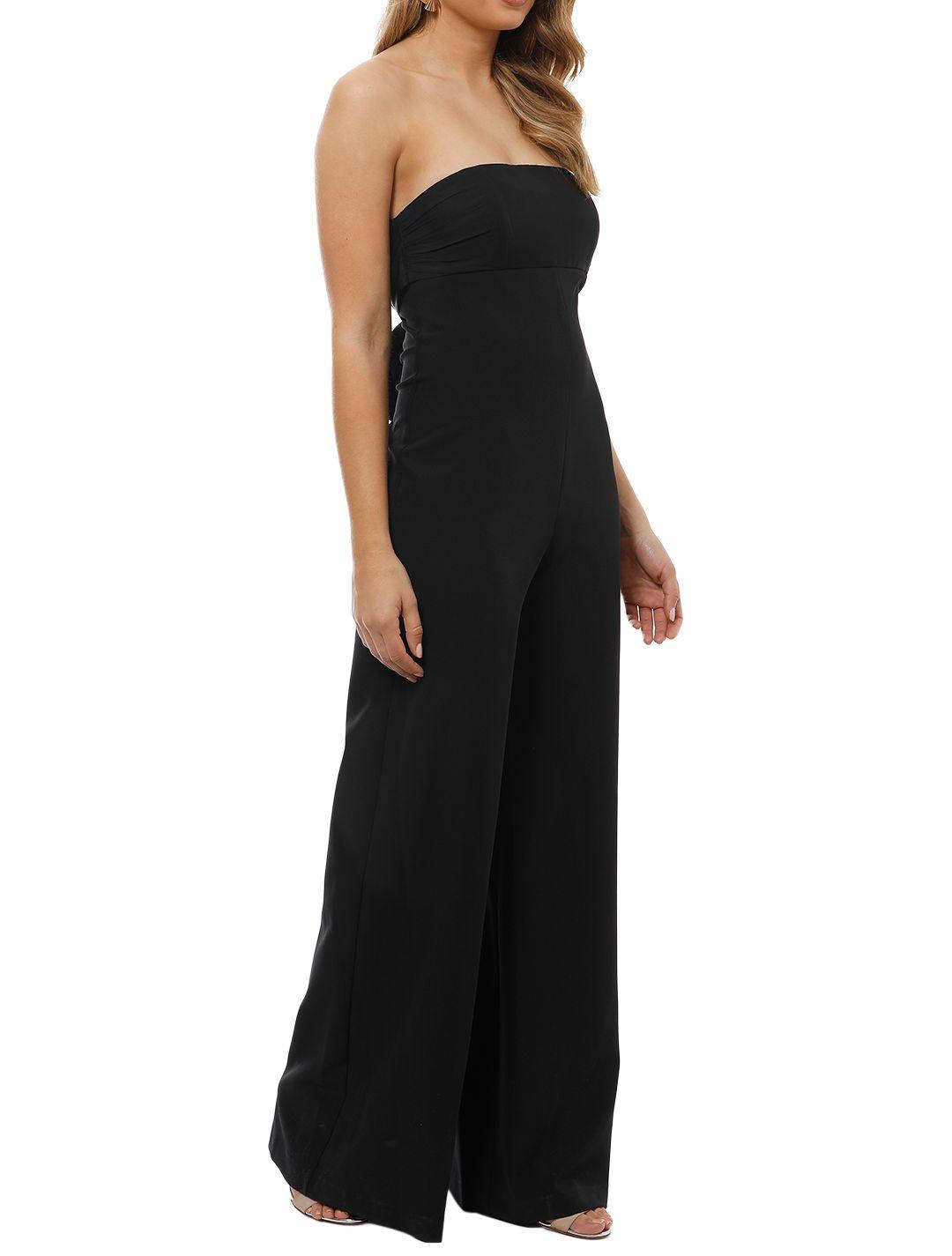 Milly - Brooke Jumpsuit - Black - Side