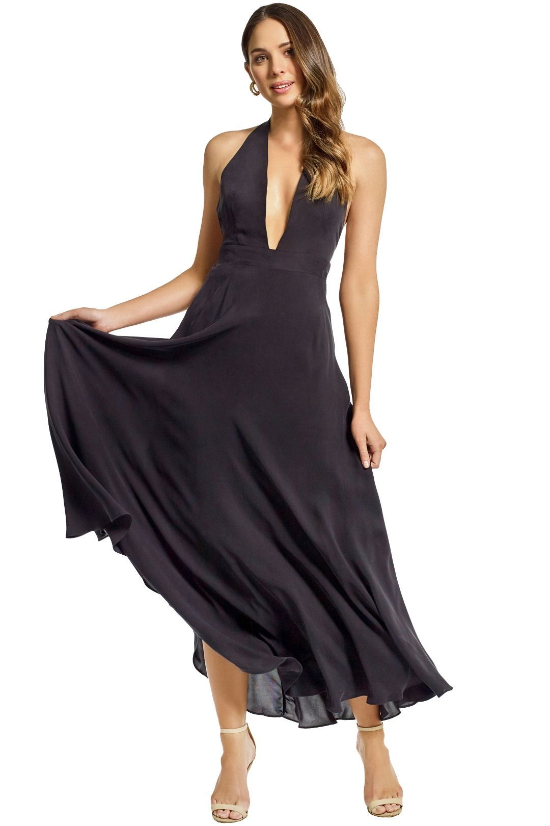 Milly - Charlie Gown - Black - Front
