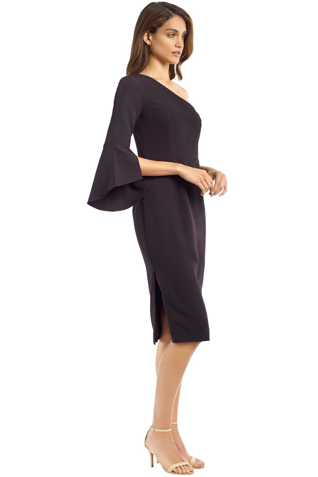 Milly - Sadrine Dress - Black - Side