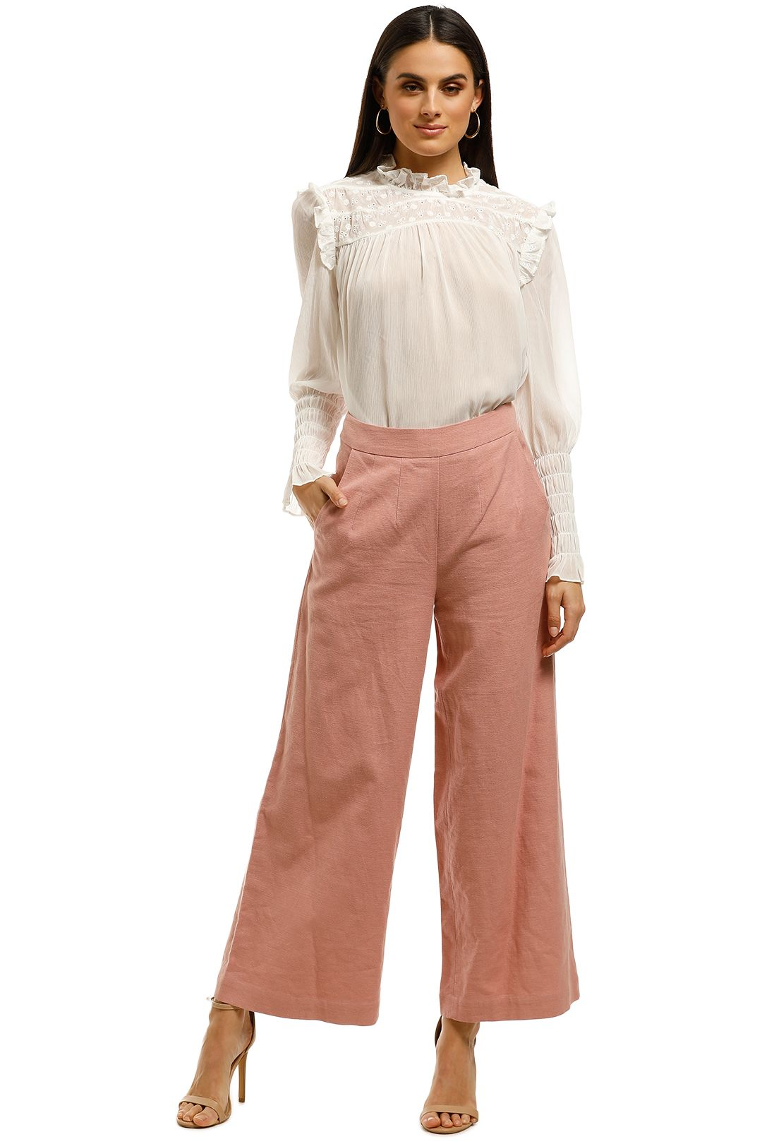 Ministry-Of-Style-Daybreak-Pants-Pink-Front