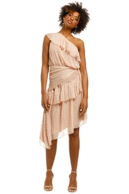 Ministry-of-Style-Daydream-One-Shoulder-Dress-Nude-Front