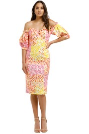Ministry-of-Style-Gazania-Off-The-Shoulder-Dress-Front