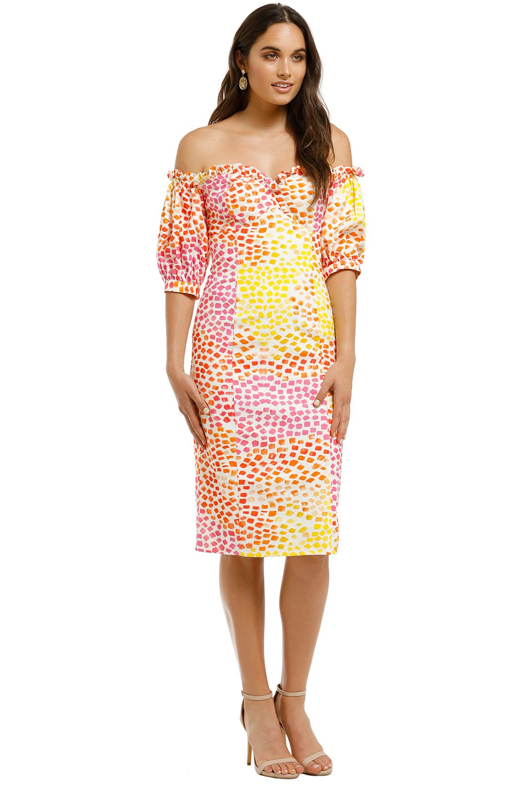 Ministry-of-Style-Gazania-Off-The-Shoulder-Dress-Side