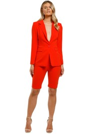 Ministry-of-Style-Magnolia-Blazer-and-Shorts-Set-Coral-Front