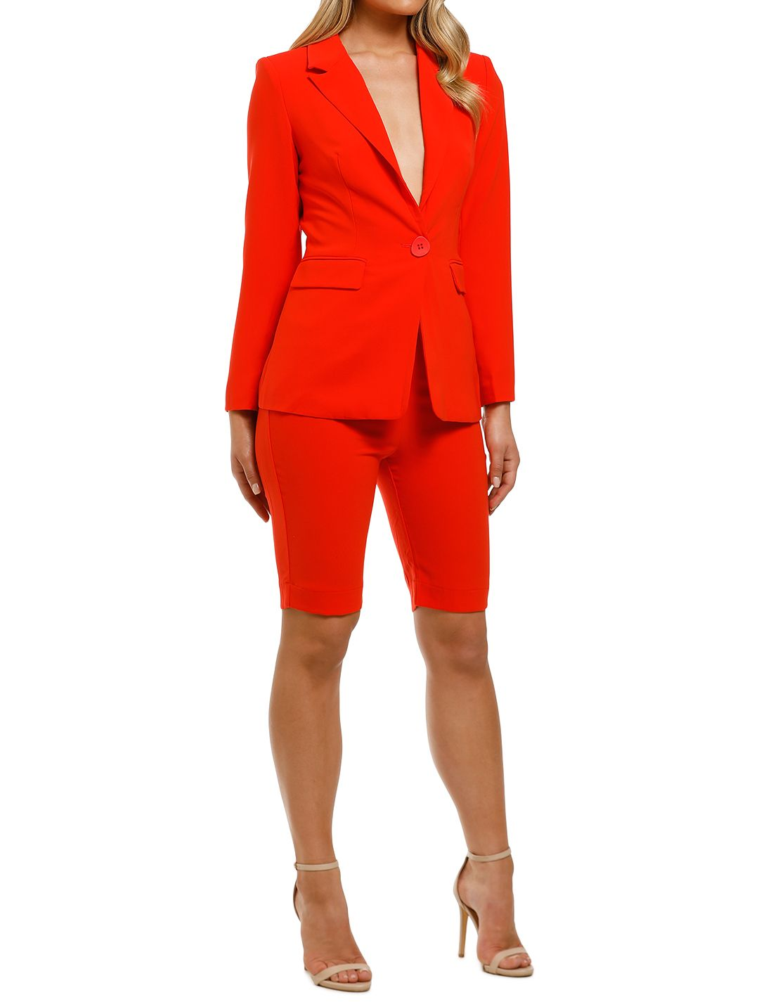 Ministry-of-Style-Magnolia-Blazer-and-Shorts-Set-Coral-Side