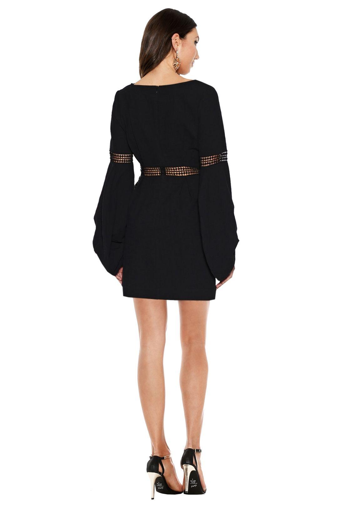 Ministry of Style - Fleeting Dress - Black - Back