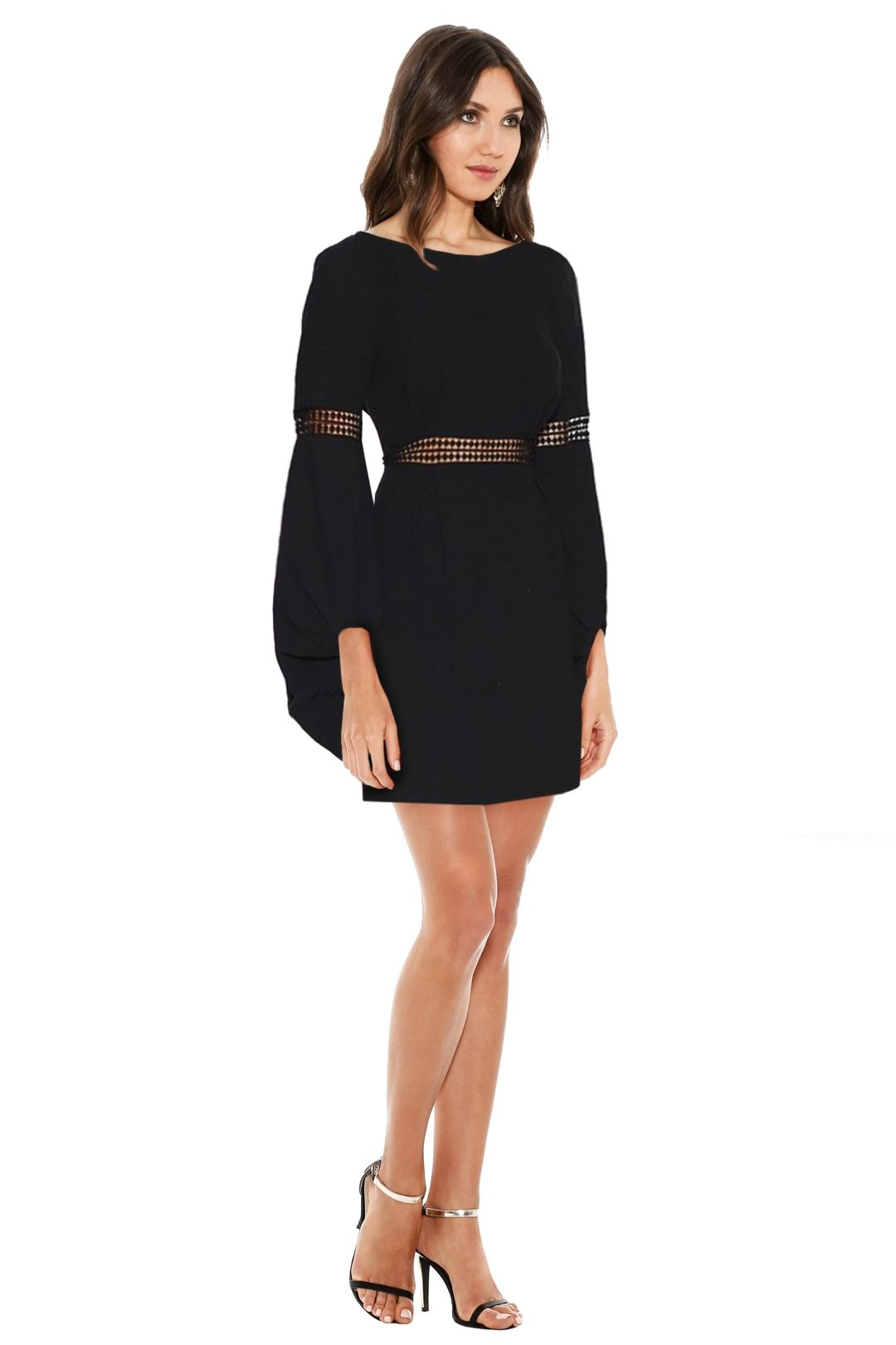 Ministry of Style - Fleeting Dress - Black - Side