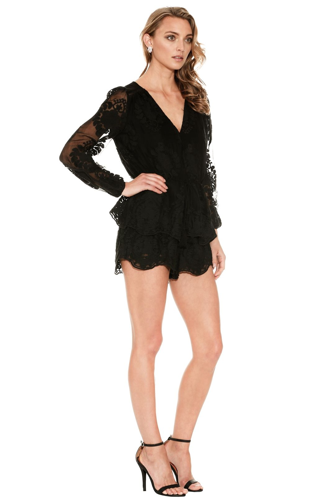 Ministry of Style - Roamer Playsuit - Black - Side