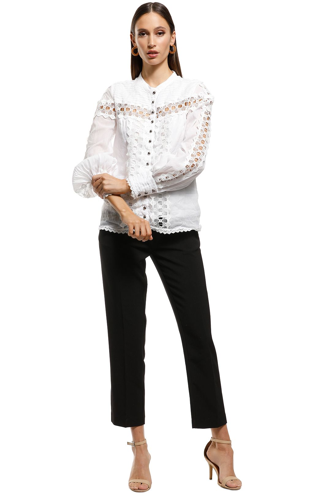 Ministry of Style - Rumour Top - Ivory - Front