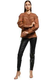 Ministry of Style - Rumour Top - Walnut - Front