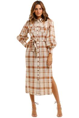 Ministry of Style Country Calling Dress plaid