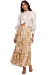 Ministry Of Style Desert Daze Midi Skirt floral