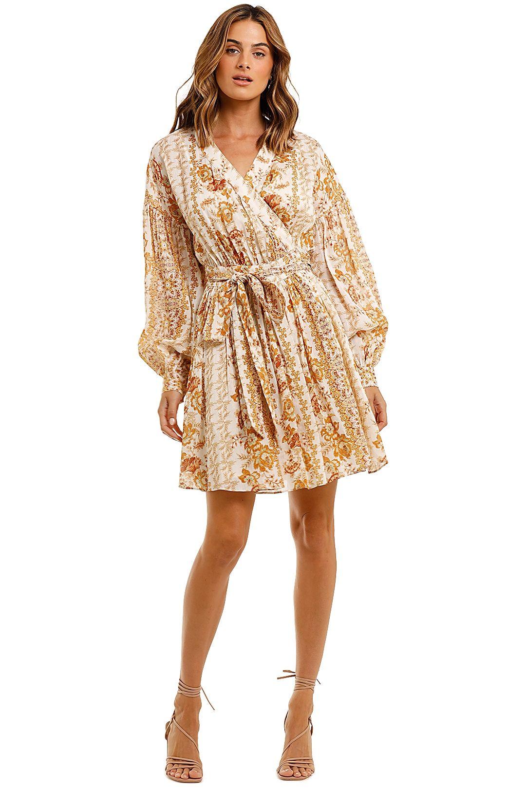 Ministry of Style Desert Daze Wrap Mini Dress Floral