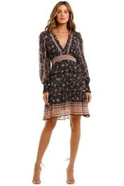 Ministry of Style Navajo Mini Dress Paisley Print