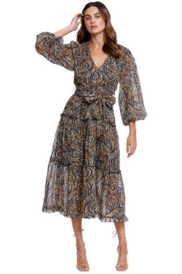 Ministry of Style Parisian Soul Midi Dress Belted