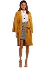 Mink Pink Harriett Long Coat knee length