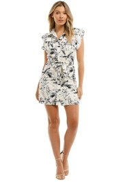 Mink Pink Utility Shirt Dress
