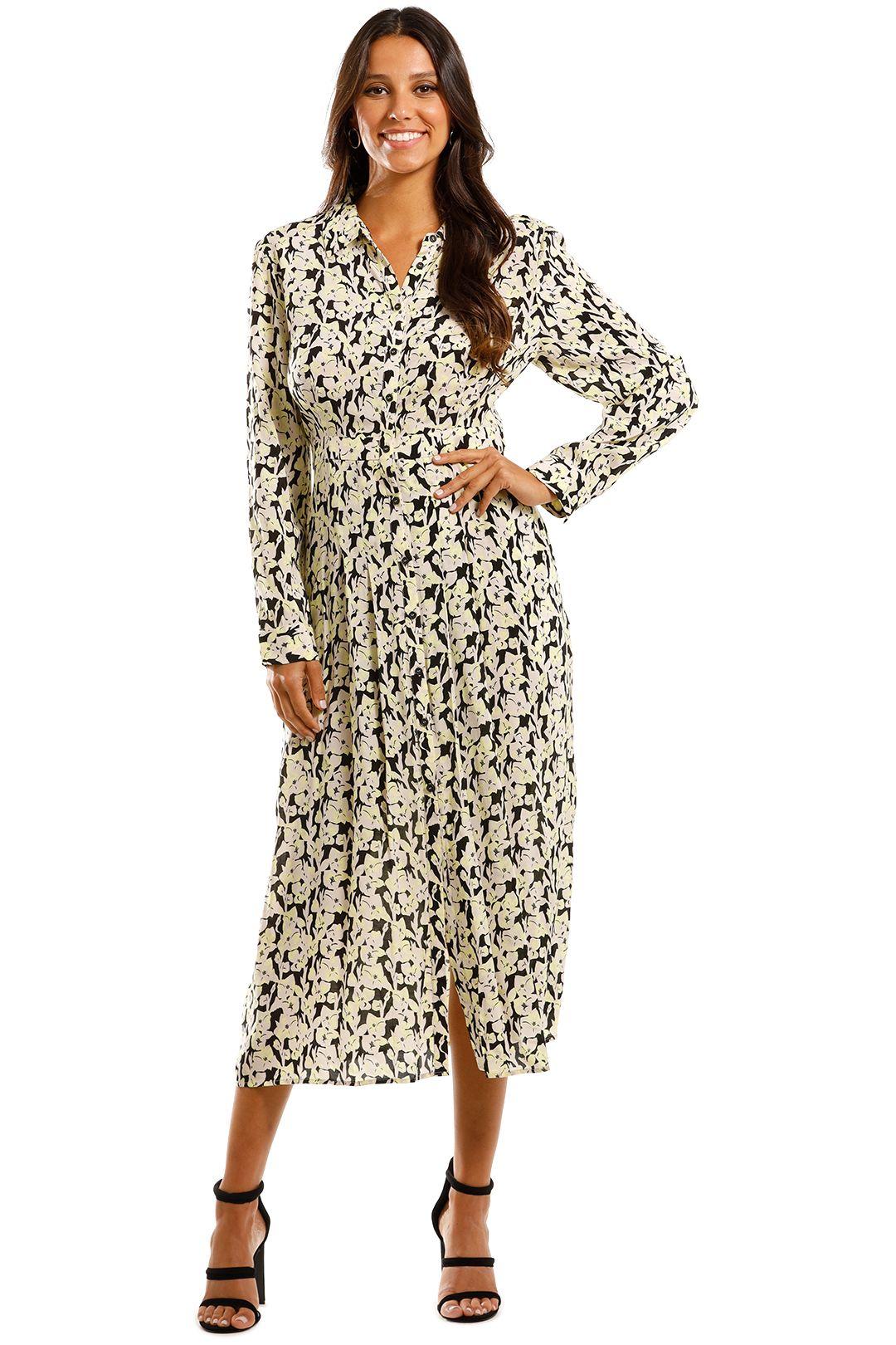 Mint Velvet Beth Print Shirt Dress