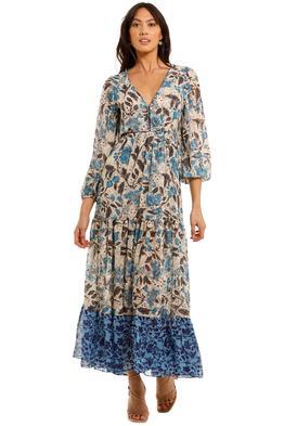 Misa LA Anahita Dress Maxi Length