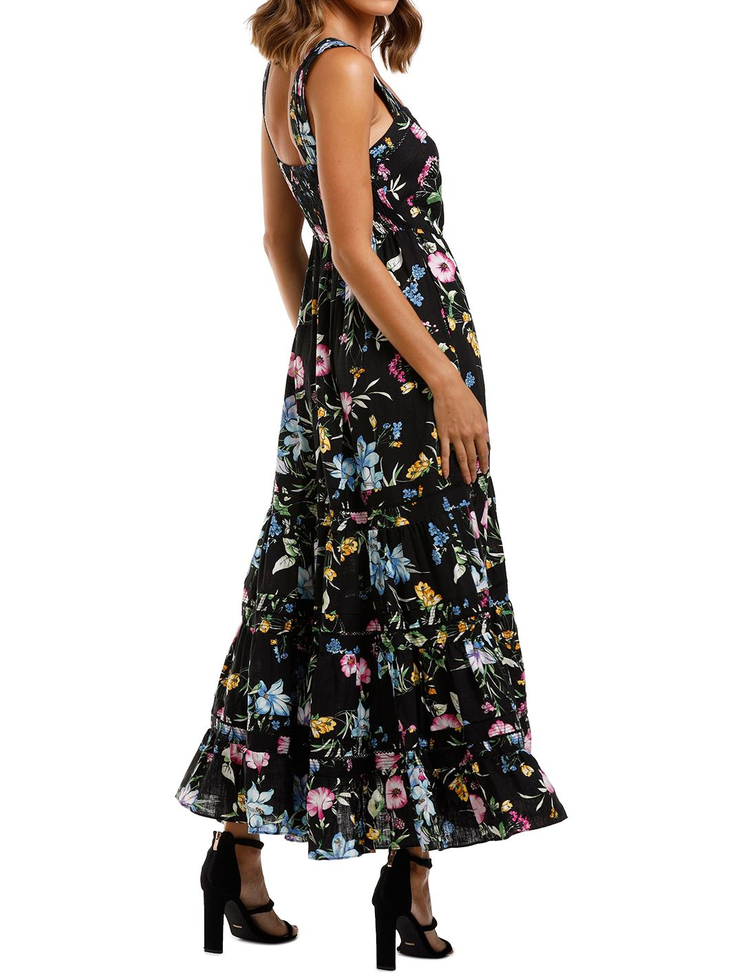 Misa LA Aurelia Dress dark floral