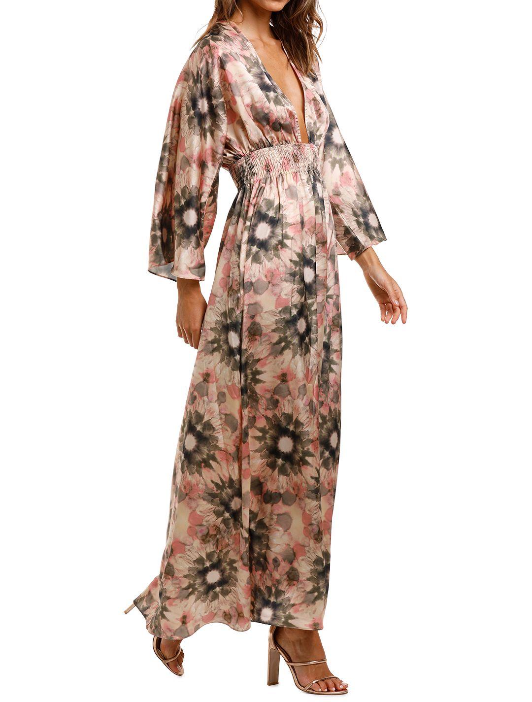 Misa LA Bardot Dress Maxi