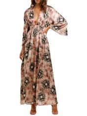 Misa LA Bardot Dress Plunge Neckline