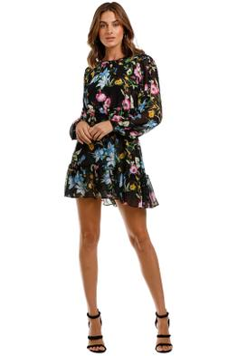Misa LA Callae Dress round neck