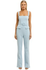 Misha-Aviana-Pantsuit-Powder Blue-Front