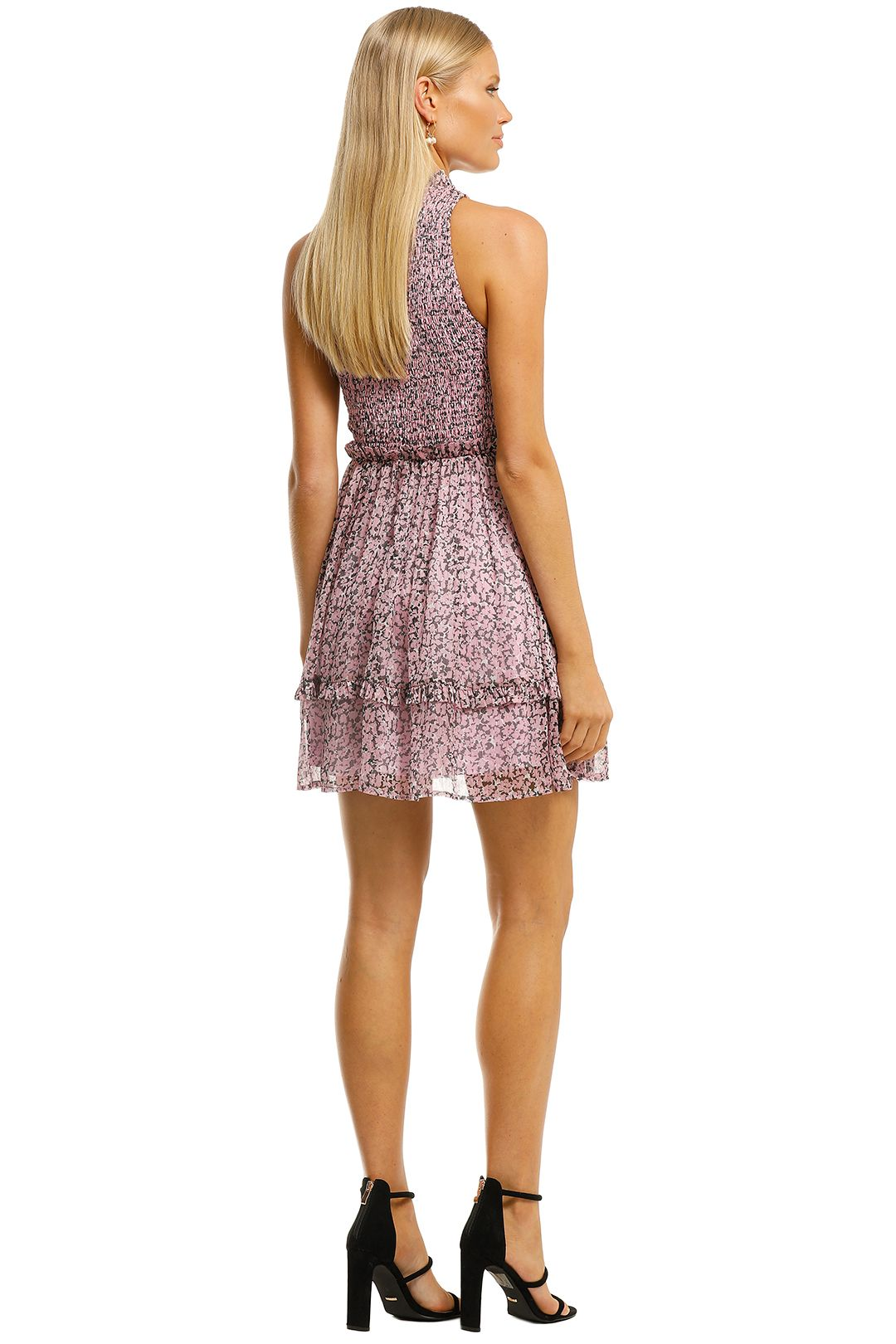 Misha-Bronwyn-Dress-Pink-Floral-Back