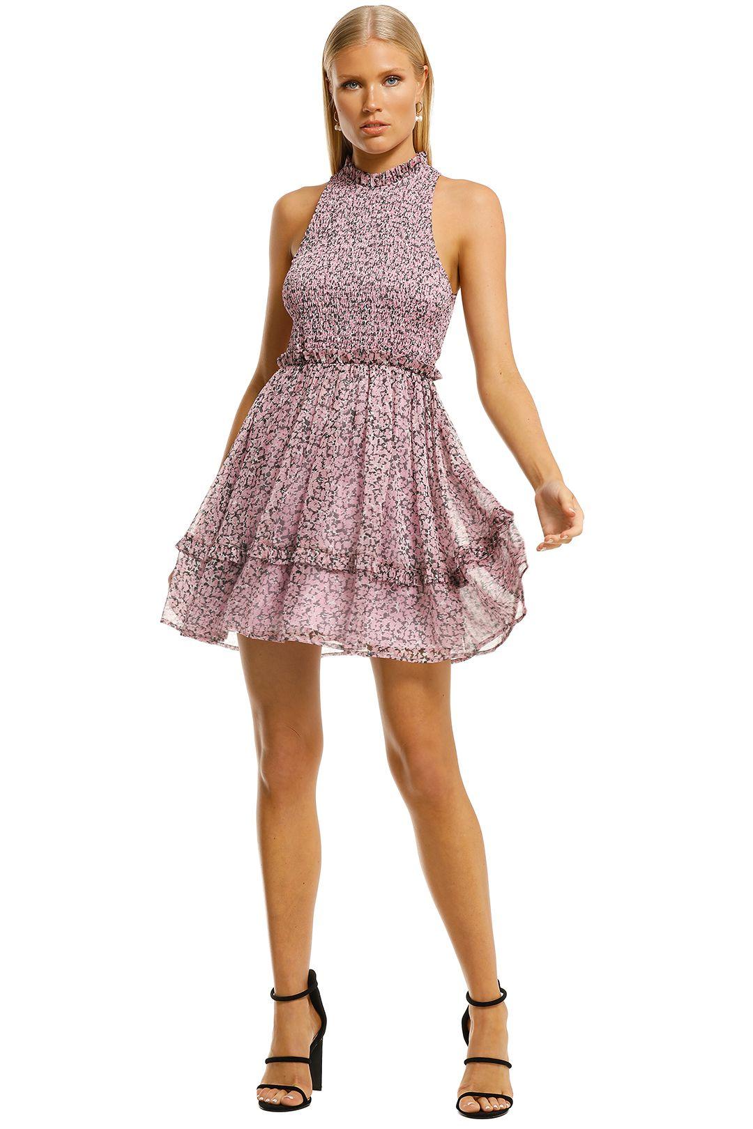Misha-Bronwyn-Dress-Pink-Floral-Front