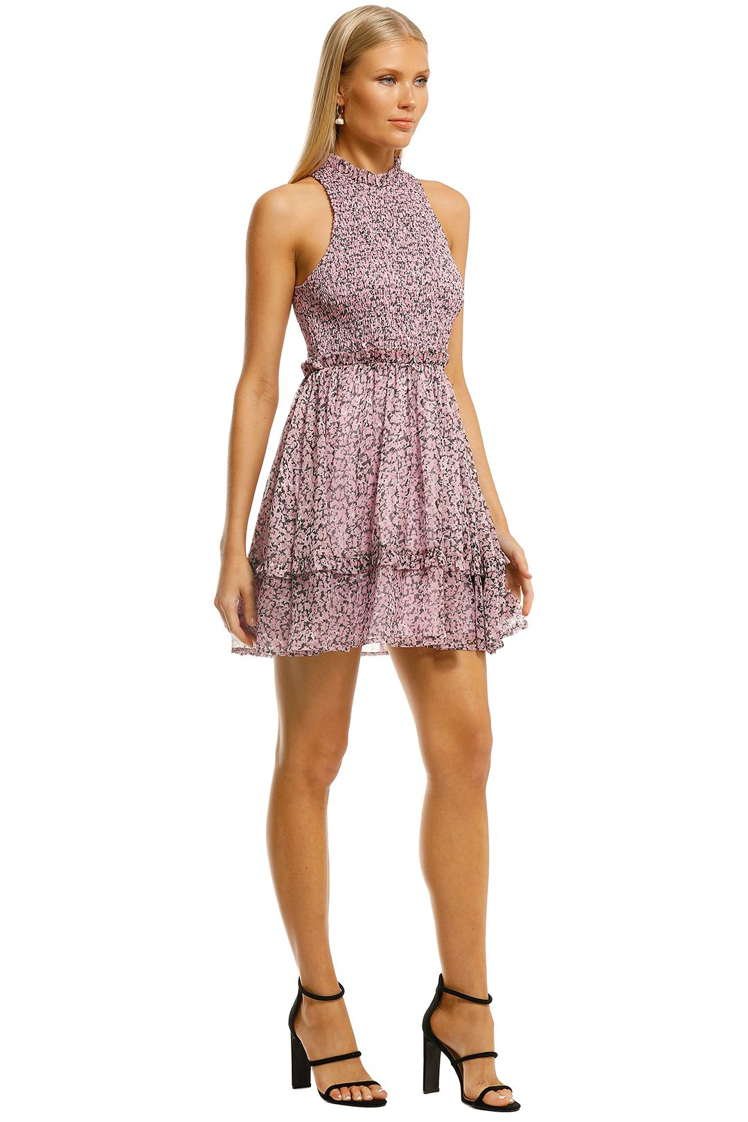 Misha-Bronwyn-Dress-Pink-Floral-Side