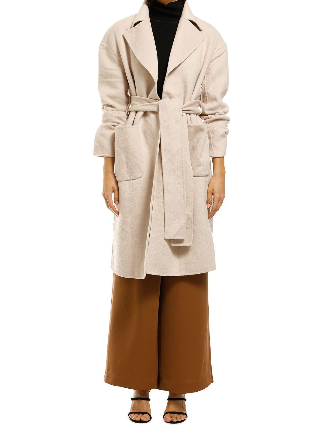 Misha-Collection-Haillie-Coat-Beige-Front