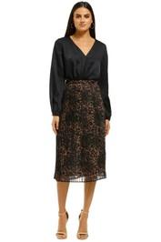 Misha-Collection-Jana-Skirt-Leopard-Front