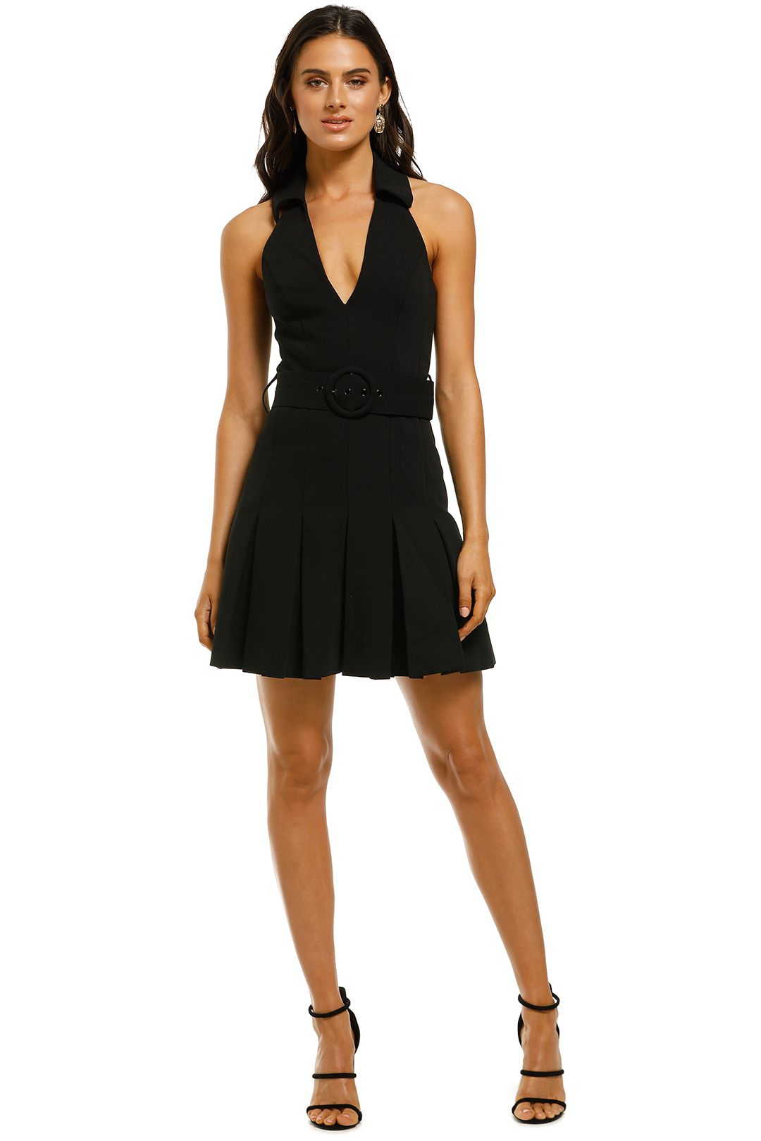 Misha-Collection-Lucinda-Dress-Black-Front