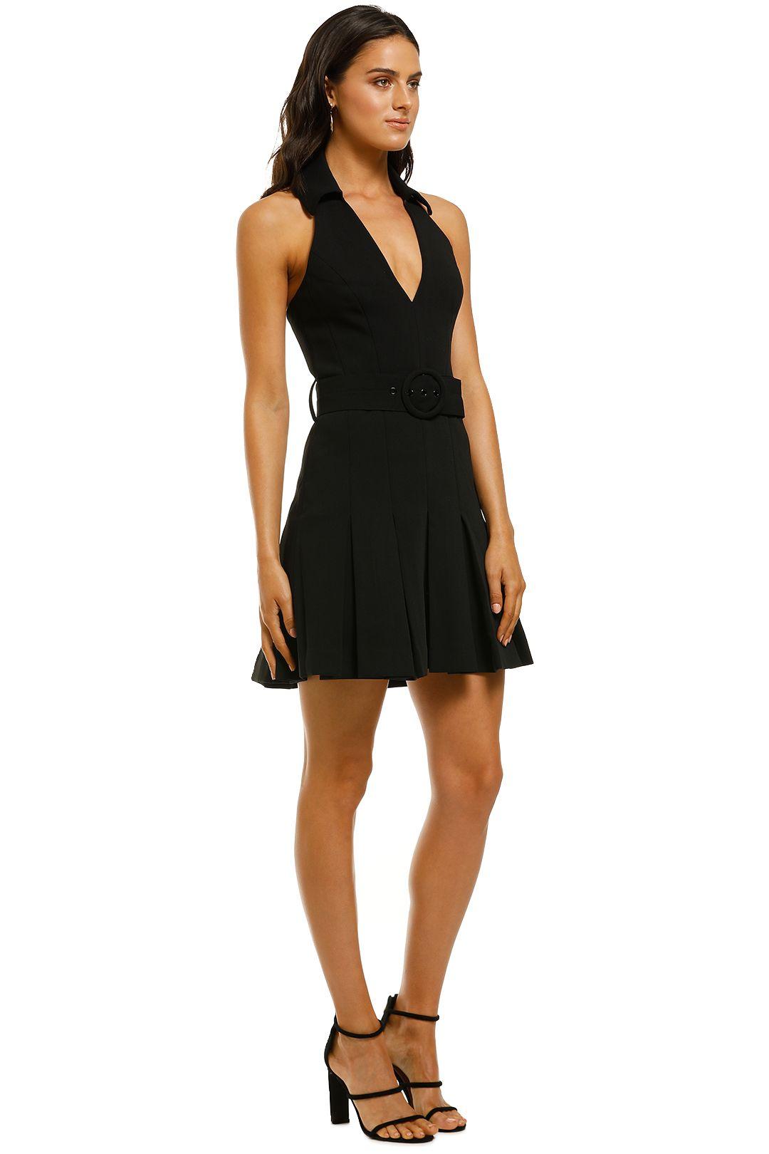 Misha-Collection-Lucinda-Dress-Black-Side