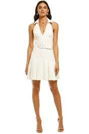 Misha-Collection-Lucinda-Dress-Ivory-Front