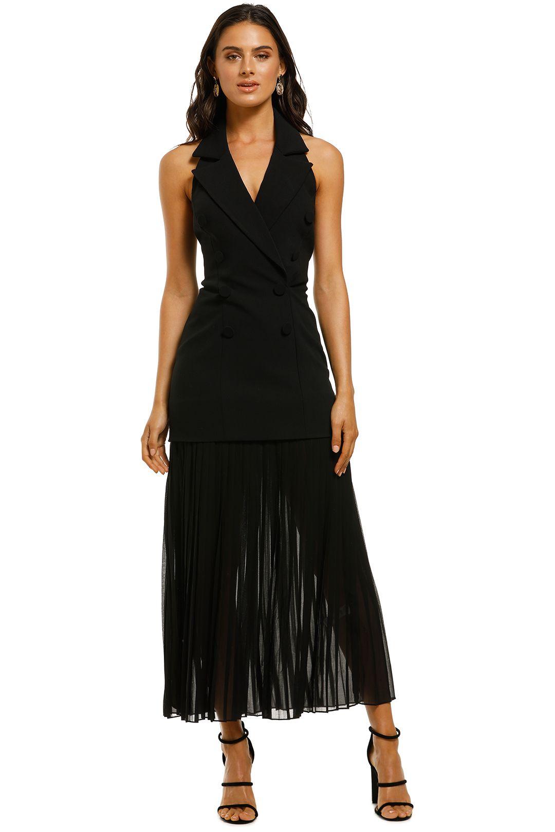 Misha-Collection-Sammiah-Dress-Black-Front