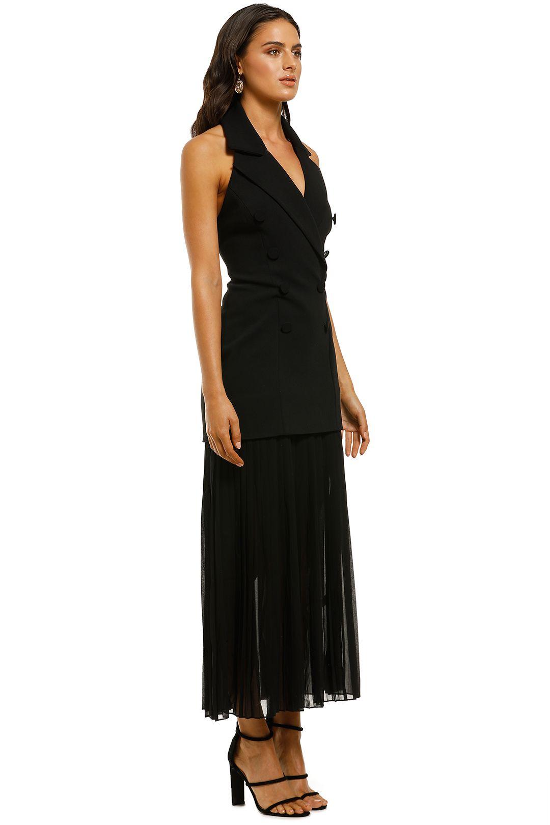 Misha-Collection-Sammiah-Dress-Black-Side