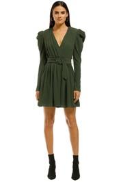 Misha-Collection-Zahlia-Dress-Khaki-Front