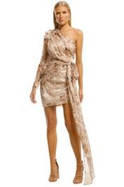 Misha-Jaylene-Dress-Floral-Print-Front