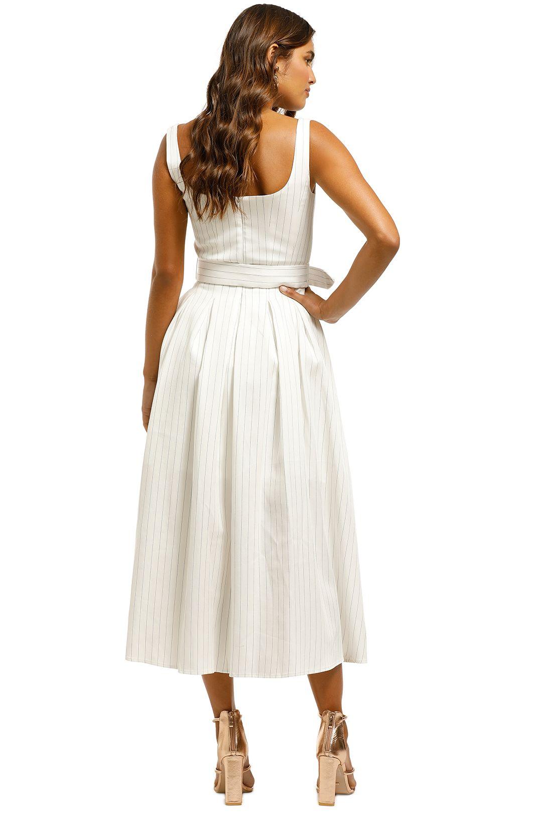 Misha-Karmella-Dress-Ivory-Back