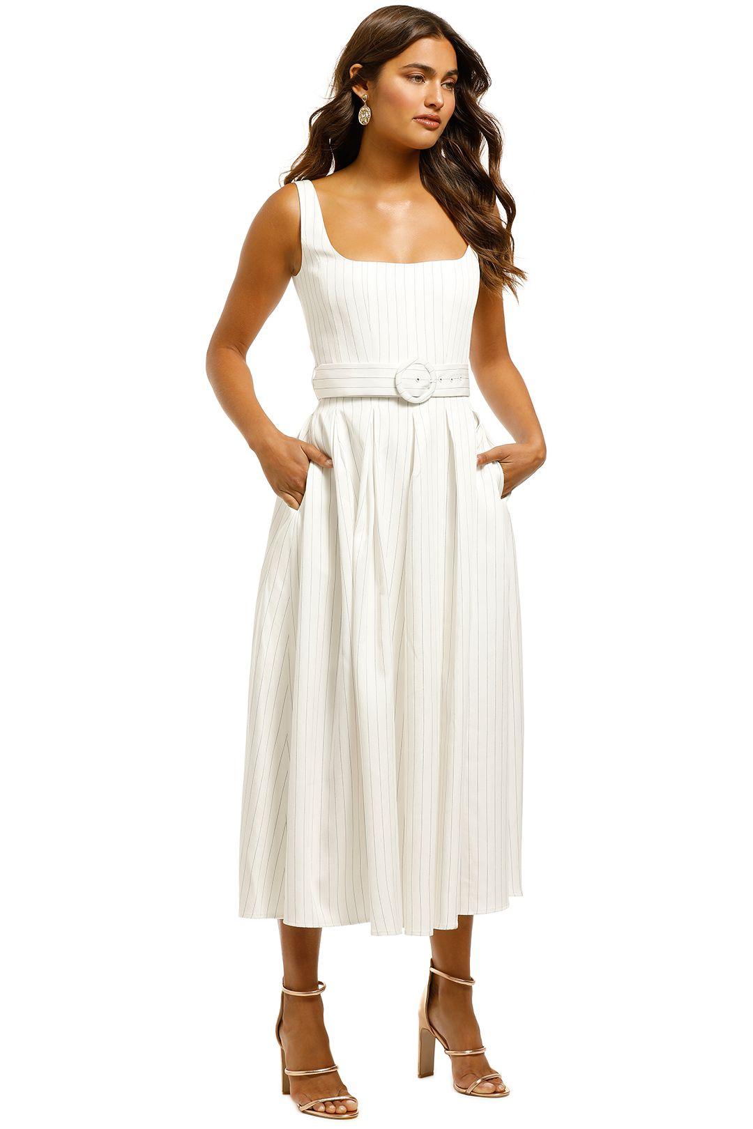 Misha-Karmella-Dress-Ivory-Side