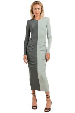 Misha-Leta-Dress-Grey-Front