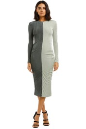 Misha-Leta-Dress-Grey-Front